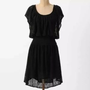 Anthropologie Leifnotes black dress